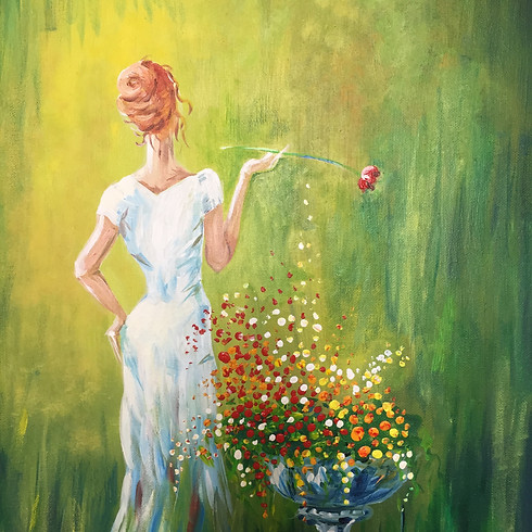 Let's paint In the Mood of Spring with Elena