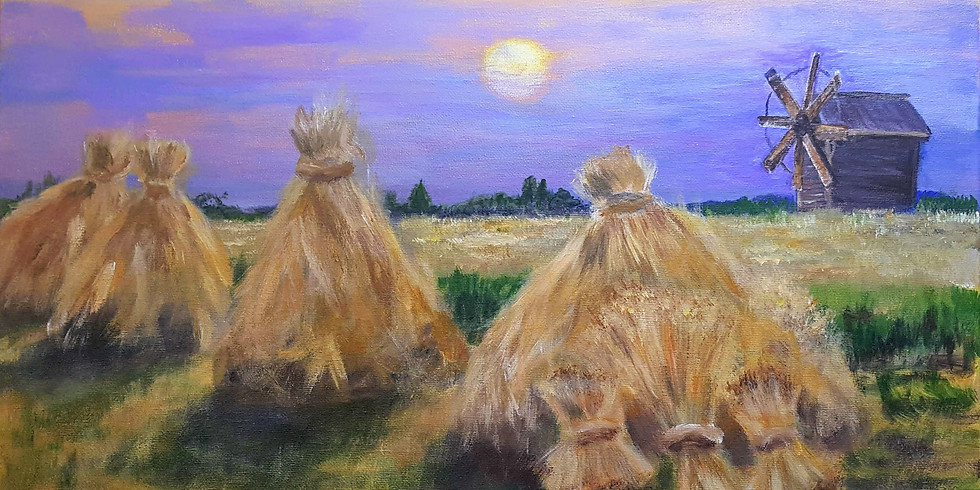 Let's paint Harvest with Anna