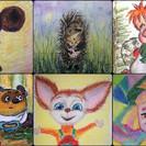 Открыта запись на серию занимательных уроков по рисованию масляной пастелью онлайн