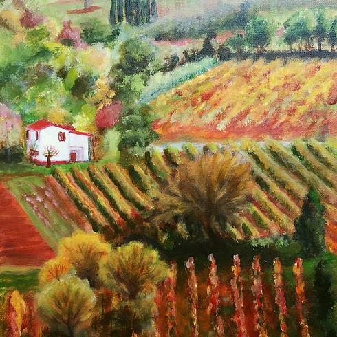 Let's paint Italian Fall Winery