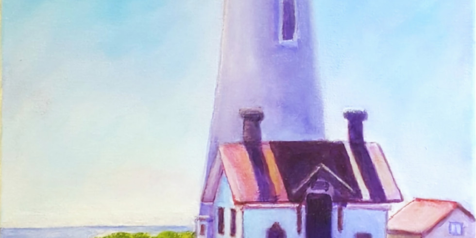 Let's paint  Lighthouse and sip some tea