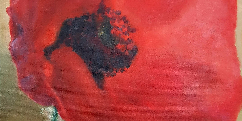 Let's paint Red Poppy with Anna
