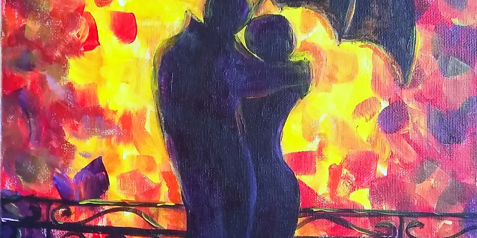 Let's paint Rain of Romance