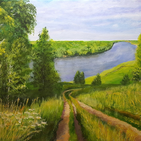 Let's paint Countryside with Anna