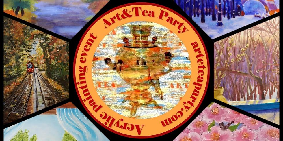 Art&Tea party event Gift Ticket