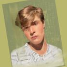 Custom portrait on Etsy