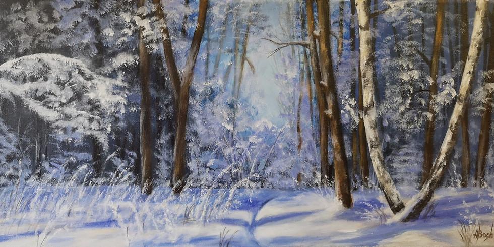 Let's paint Winter Wonderland
