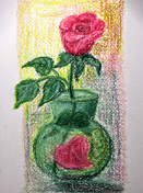 В четверг 11 февраля в 19.30 EST,100 минут рисования в Zoom. Масляная пастель $12