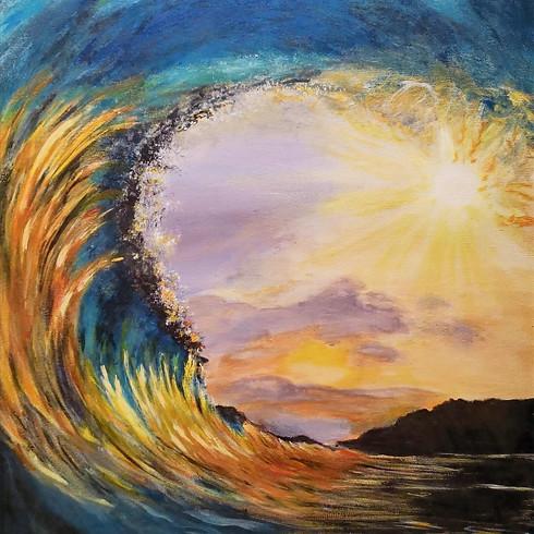 Let's paint Sun Hug Wave