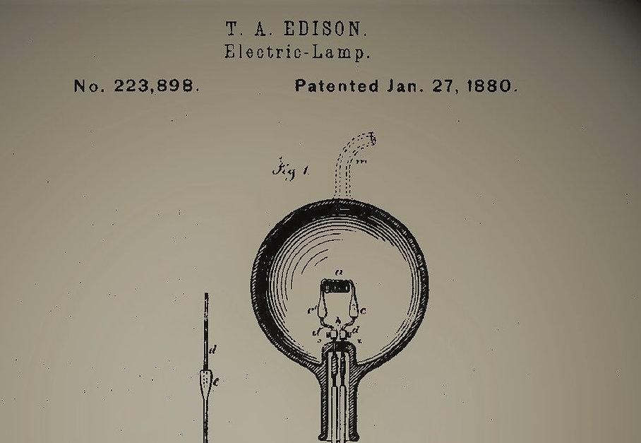US223898A:トーマス・エジソン(Thomas Edison) 電灯 18
