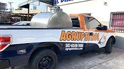 Camión combustible Agrupetrol