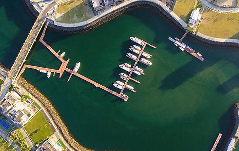 Marina de lujo en Panamá