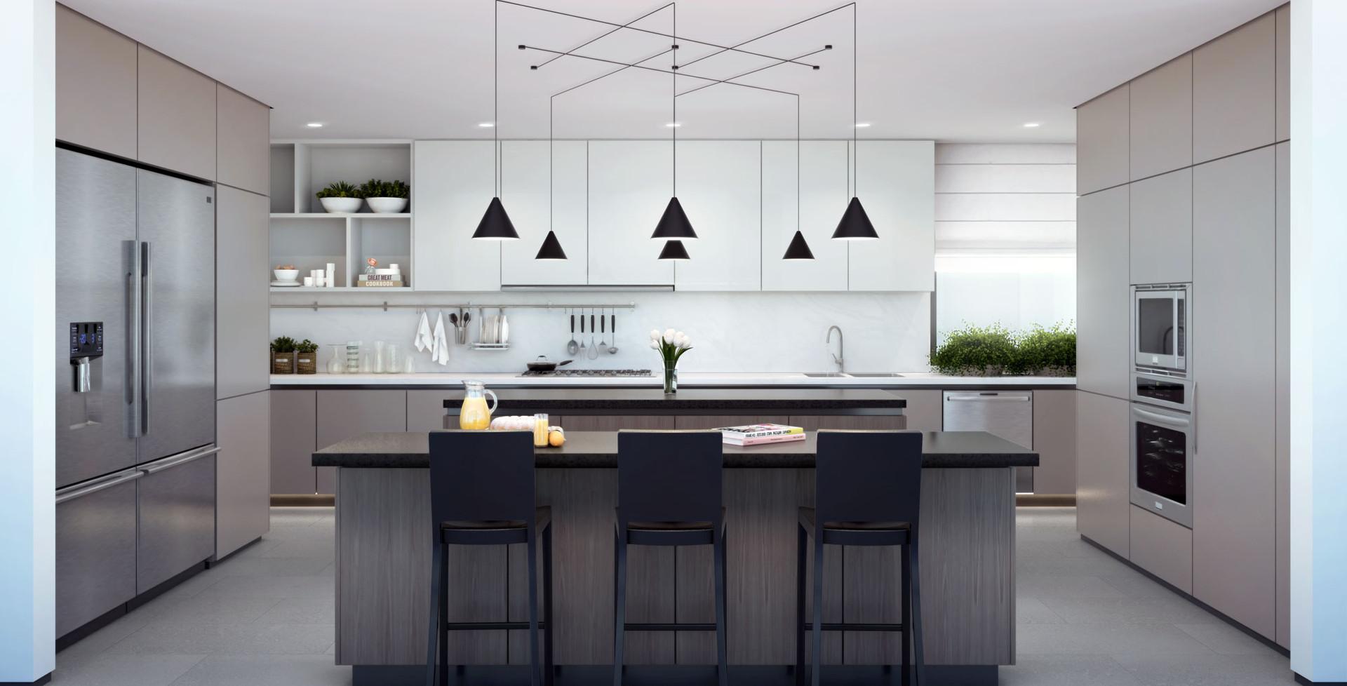 Premium European-Designed Kitchen