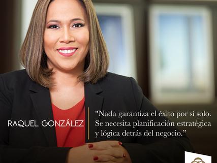 Raquel González - Gerente del Mes