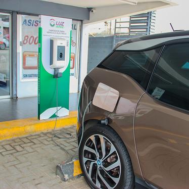 Red de Cargadores para vehículos eléctricos
