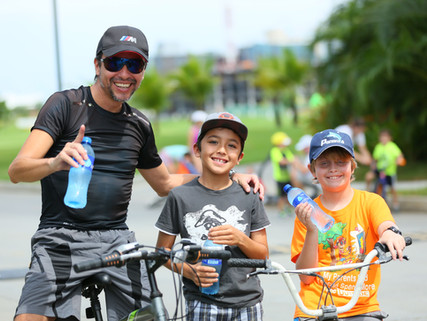 Primera ciclovía para residentes de Santa María