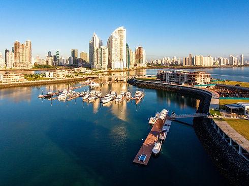 Muelle de lujo en Ciudad de Panamá
