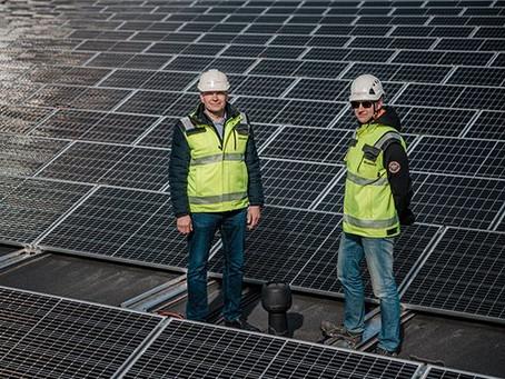 Helsingin Sanomat: Vastuullista aurinkosähköä omalta katolta