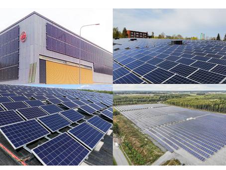 Solarigo asensi ennätysmäärän uusia aurinkovoimaloita vuonna 2019!