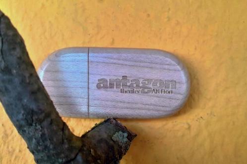 antagon wooden USB Pendrive