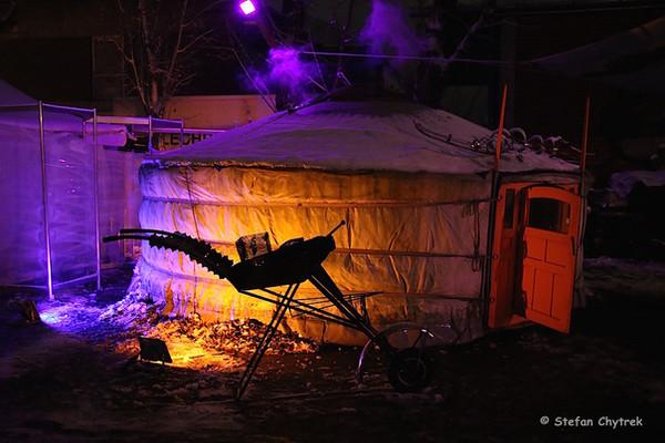 Our yurte in Winterwerft