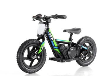 """Revvi 12"""" Electric Balance Bike - Green"""
