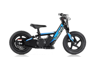 "Revvi 12"" Electric Balance Bike - Blue"
