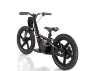 """Revvi Sixteen 16"""" Electric Balance Bike - Black"""