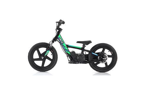 "Revvi 16"" Plus Electric Balance Bike - Green"