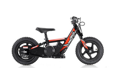 "Revvi 12"" Electric Balance Bike - Red"