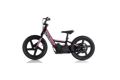 "Revvi 16"" Electric Balance Bike - Pink"