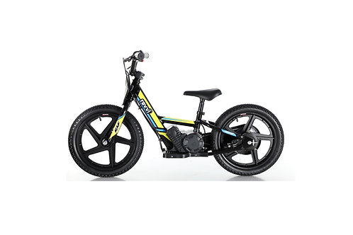 "Revvi 16"" Electric Balance Bike - Yellow"