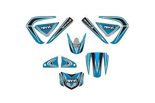 Revvi Graphics Kit - Blue