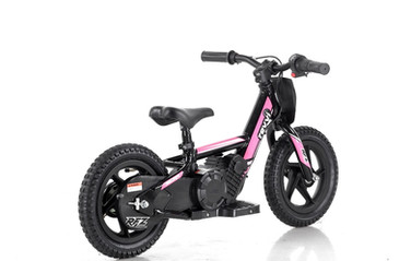 "Revvi 12"" Electric Balance Bike - Pink"