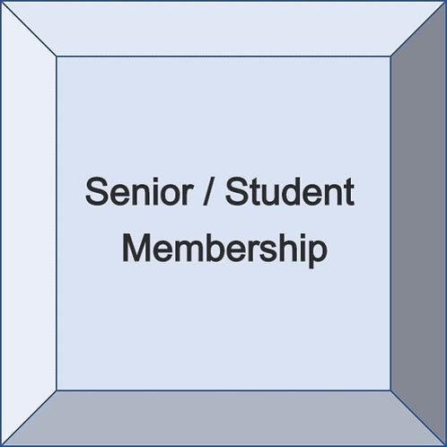 Senior / Student Membership
