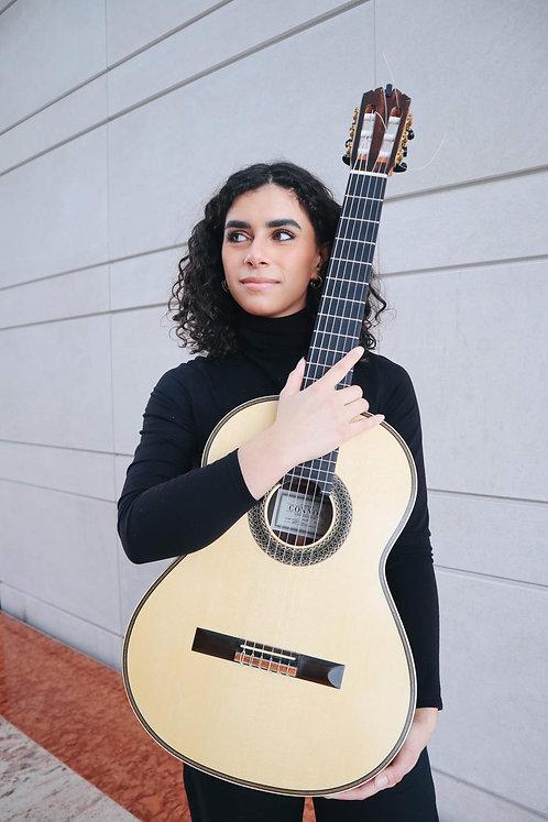 Leonela Alejandro Solo Guitar Saturday February 13, 2021  Musical theme: Italian