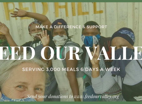 ♥️A Mandela Day appeal to support Feed our Valley and make Ubuntu magic!♥️