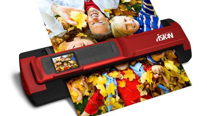 iSken 專業版 1200dpi 分離式手持掃描器(型號T4GD)