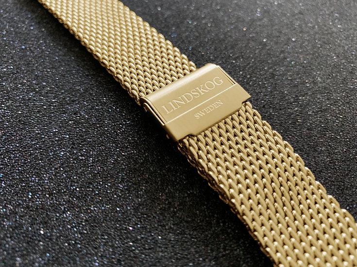 Shark Mesh Bracelet - Gold