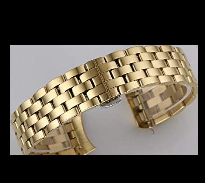 Engineers Metal Link Bracelet - Gold