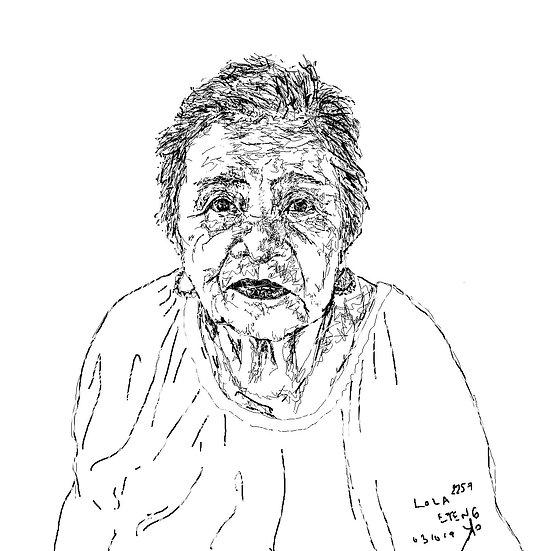 Lola Eteng (Grandmother)