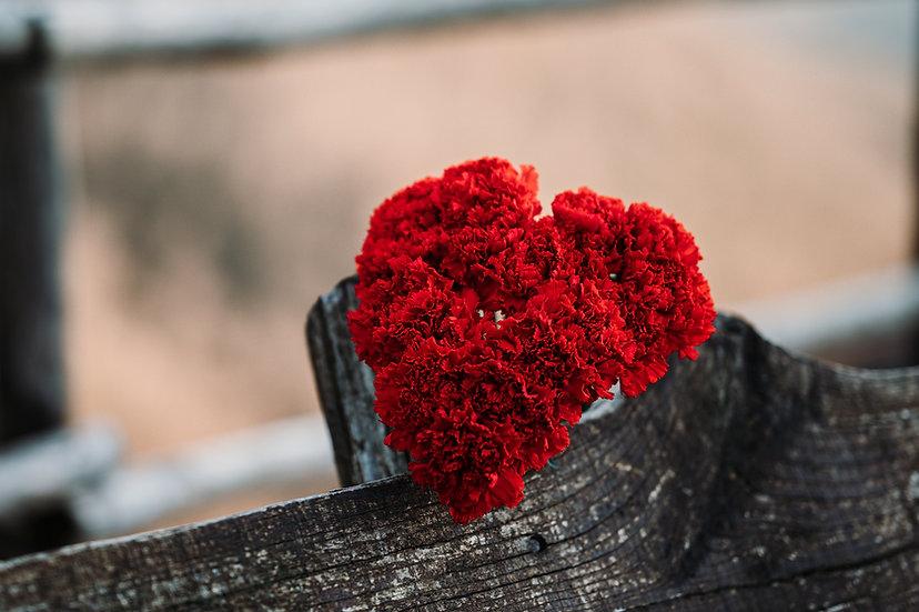 Bouquet Cuore Rosso