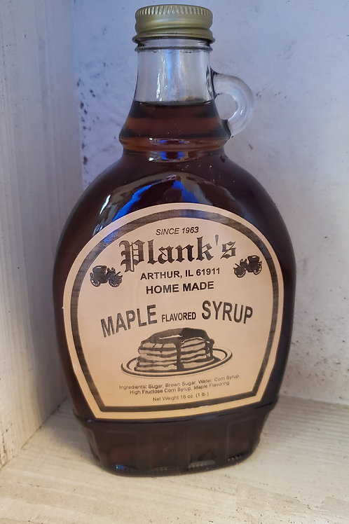 Plank's Homemade Syrup