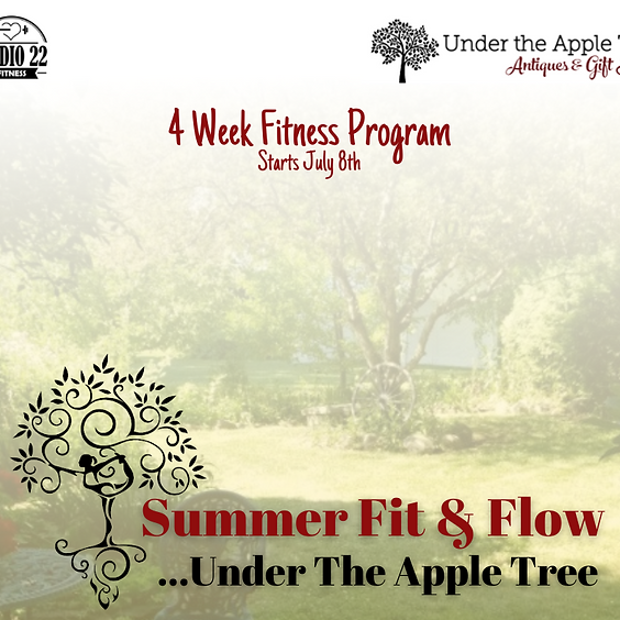 Summer Fit & Flow...Under The Apple Tree