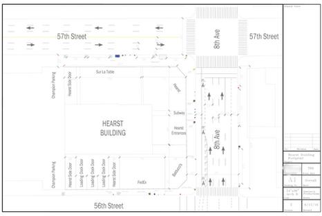 Hearst Tower Footprint (Manhattan) - New York City