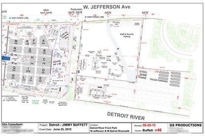 Jimmy Buffett - Detroit River Front Park
