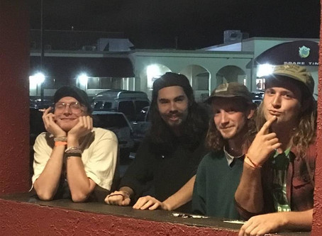 Local psych-punk band Plains to release first album