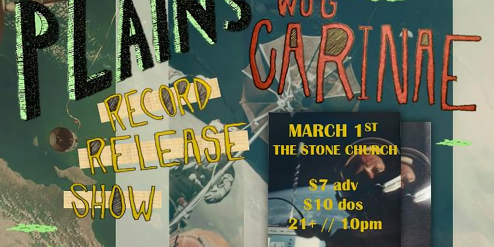 Plains Record Release w/s/g Carinae