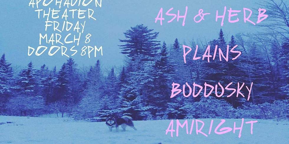 Plains (NH) / Buddusky / Amiright? / Ash & Herb