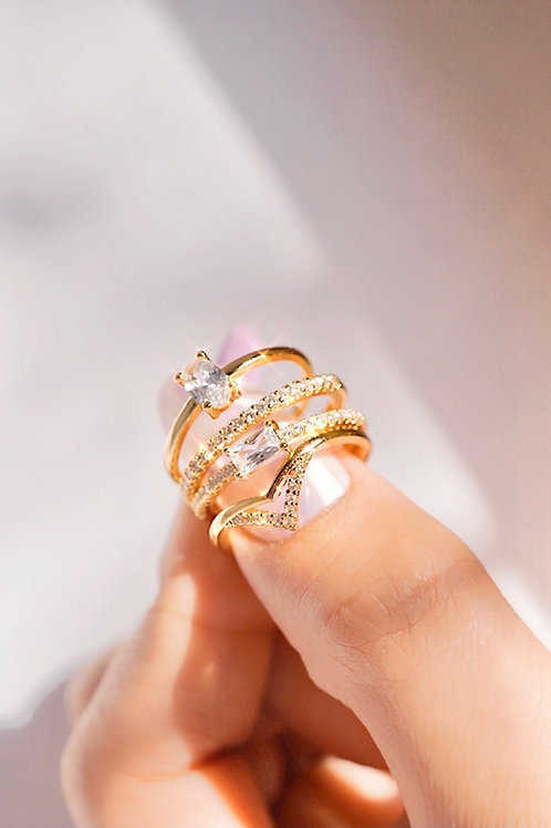 NEW ARRIVAL CZ RINGS